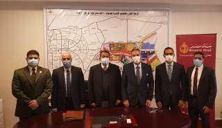 بنك مصر يوقع بروتوكول تعاون مع شركة العاصمة الإدارية