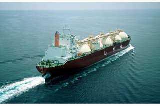 وصول ناقلة الغاز المسال دمياط لتصدير شحنة الغاز الثانية للصين