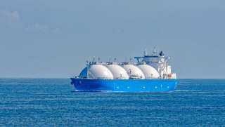 ناقلة الغاز المسال تغادر ميناء دمياط بعد تحميل ثاني شحنة للتصدير متجهة للصين