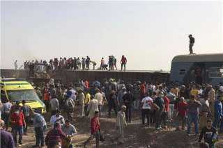 السكة الحديد تكشف تفاصيل حادث قطار طوخ