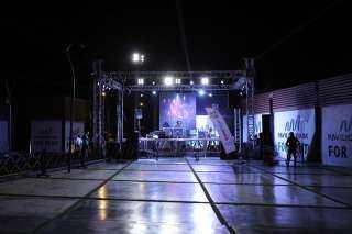 أضواء «pavilion Park» تضيئ سماء الشيخ زايد فى يوم الافتتاح.. صور