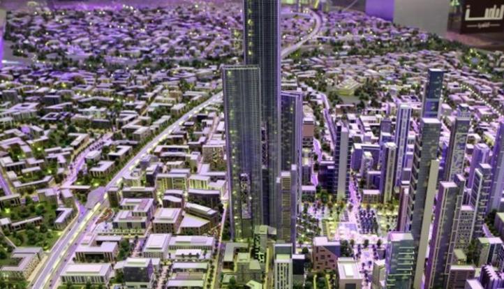تطوير 70 مشروعا تجاريا بمنطقة الداون تاون فى العاصمة الإدارية العام الجاري